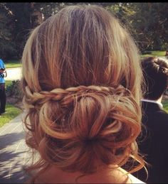 Wedding Bridesmaid Braid Updos
