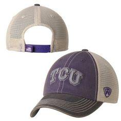 TCU Horned Frogs Top of the World Purple Gray Offroad Adj Snapback Hat Cap