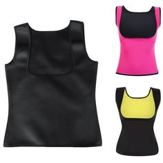 c75eac42ed4ae4 Elfremore Body Shaper Slimming Waist Trainer Neoprene Vest Weight Loss  Shapewear No Zipper For Women -- Click on the image for additional details.