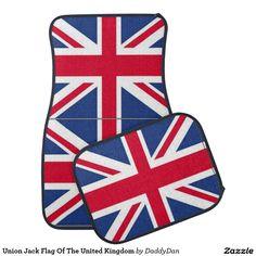 Union Jack Flag Of The United Kingdom Car Mat