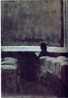 Solitary Figure in a Theatre (1902)