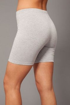 Womens Combed Cotton Basics 5 Inch Bike Short by In Touch $12.75