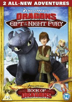 From 1.54 Dreamworks Dragons: Gift Of The Night Fury - Two All New Adventures [dvd]