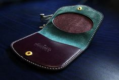 handmade - coin - wallet - leather
