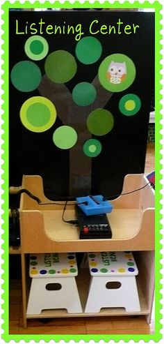 Make different sized circles on the cricut to recreate this tree for the classroom~ CN