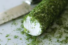 goat cheese with dill