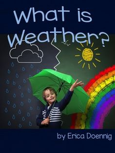 What is weather? What does it include?  Use this non-fiction read aloud to kick off your weather unit or to support instruction in your classroom.  Full color, engaging photos and easy to understand text is perfect for your students!