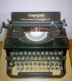 Torpedo #Schreibmaschine