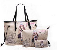 BININBOX Women's Fashion PU Leather Three-piece Set Handbag Messenger Shoulder Bag BININBOX http://www.amazon.com/dp/B00H70HR2K/ref=cm_sw_r_pi_dp_Ph3oub1J7EYF5