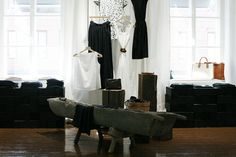 The first Samuji Shop in Kiseleff House, Helsinki Helsinki, Shops, Spaces, Inspiration, Shopping, Tents, Biblical Inspiration, Retail, Retail Stores