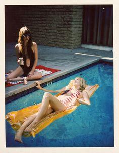 pool, beer, girls, sun