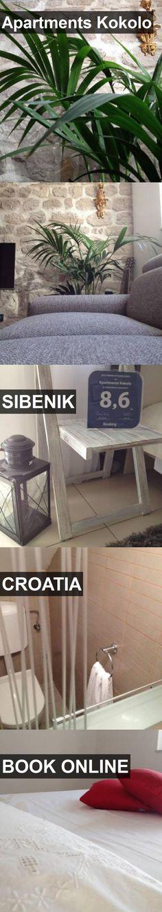 Apartments Kokolo in Sibenik, Croatia. For more information, photos, reviews and best prices please follow the link. #Croatia #Sibenik #travel #vacation #apartment