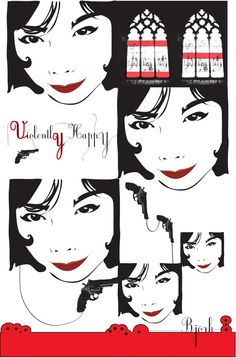 Bjork Poster by dosecreative on Etsy, $10.00