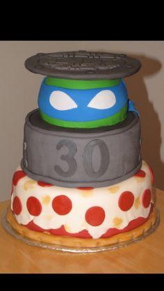 Turtle party cake idea