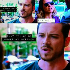Lindsay & Halstead - Season 3 this is ganna be so sad Chicago Justice, Nbc Chicago Pd, Chicago Shows, Chicago Med, Chicago Fire, Becoming A Cop, Erin Lindsay, Jay Halstead, Jesse Lee