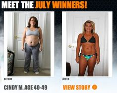 """:::July Winner::: Cindy lost 51 lbs & won a thousand dollars in The Beachbody Challenge!  """"[A tragic car accident] killed my 4 yr old son, Corey, instantly. From that moment on, my life changed forever. ...From the time of the accident until the time I started the Insanity program, I had gained over 60 pounds. ... My life since completing #Insanity has changed 100 percent for the better."""""""