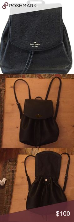 Like new Kate Spade backpack Brand new. Used a couple weeks. Too small for my mom of 2 kids lifestyle. kate spade Bags Backpacks
