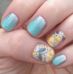Jamberry Sweet Whimsy and Jamberry Iced! So fresh for summer! Jamberry Nails Consultant, Jamberry Nail Wraps, Jamberry Combos, Round Nail Designs, Nail Art Designs, Fancy Nails, Pretty Nails, Nail Manicure, Nail Polish