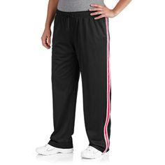 Danskin Now Women's Plus-Size Mesh Pants
