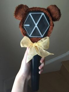 (yes, I still have the first version of the exo lightstick cause im an outdated broke bitch i cry every night everyone got the pretty white lightstick like they. Exordium Exo, Kpop Exo, Exo Kai, White Aesthetic, Kpop Aesthetic, K Pop, Exo Merch, Exo Concert, Bts And Exo
