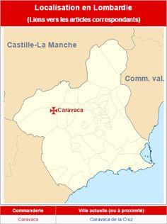 Commanderies templières dans la région de Murcie, Espagne
