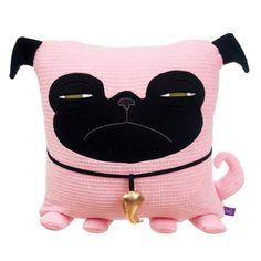 Velvet Moustache: Pug Pink - @Marissa Hereso Wentz