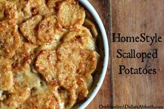 HomeStyle Scalloped Potatoes