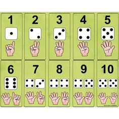 Number and die Numbers Preschool, Math Numbers, Teaching Math, Preschool Activities, Math Games, Learning Activities, Kids Learning, Kindergarten Math Worksheets, Math Resources