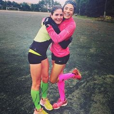REPOST: #TeamCEP ambassadors @rachfrann and @mariah_kelly1 show off their Flash Green Sleeves and Flash Pink Full Socks after a recent workout. Do you match your gear to your squad?  #CEPCompression #CEPSocks #CEPSports #SquadGoals #Gear #Endurance #fitfam #healthy #fitnessmotivation #compressionsocks #gym #workout #compression #run #running #runner #runchat #fitness #health #fit #gymmotivation