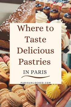 Where to find (and taste) some of the most delicious #pastries, #cakes, and #viennoiseries (think #croissants & #painauchocolat) in #Paris? Find out in this mouthwatering guide. #patisserie #pastry #desserts #frenchfood #gourmet #France #travel #foodtour Butter Croissant, Opera Cake, French Pastries, Foodie Travel, Street Food, Food Inspiration, Lemon Tarts, Eclairs, Pain Au Chocolat