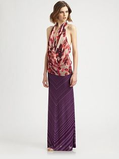 Haute Hippie - Trust Beneath The Rose Halter Top - Saks.com