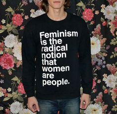 [PREORDER] 'Feminism is the Radical Notion' Sweater