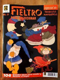 FIELTRO para coleccionar Especial de trabajos navideños  Vol. 27  www.editorialduve.com