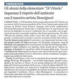 #earthdayitalia #giornatadellaterra dal giornale @eartdayitalia @giornatadellaterra