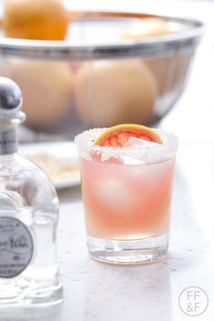 National #margaritaday is this weekend! I'm celebrating with these Grapefruit Margaritas with @Casa_Noble #tequila #sp