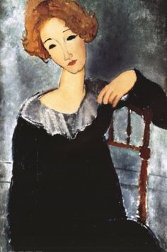 One of my favorite paintings by one of my favorite artists. - Modigliani