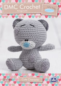 Cute Tiny Tatty Teddy Character crochet pattern available to download at LoveCrochet