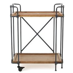 Outdoor Serving Cart | Joss U0026 Main. Wood ShelvesDining AreaDining Rooms!