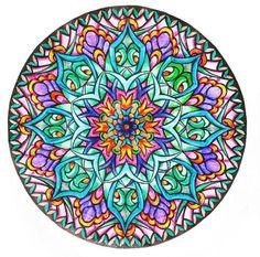 Шаблоны мандал для росписи (цветные). Обсуждение на LiveInternet - Российский Сервис Онлайн-Дневников