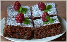 Cuketové řezy Nutella, Deserts, Pudding, Baking, Sweet, Food, Garden, Candy, Garten
