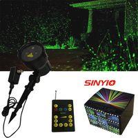 New version Green Outdoor Waterproof  Laser projector Landscape Light club party Christmas Tree Garden Xmas