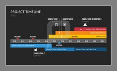 The bigger the task, the more important it becomes to keep track of the current status of the project. In this case, #GanttCharts with a number of parallel timelines are indispensable. Try out our #ProjectTimeline Templates!