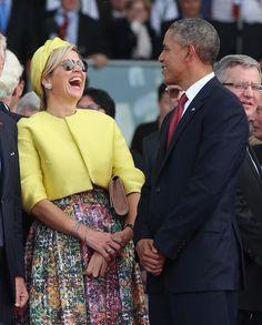 Barack Obama and Queen Maxima of Holland Photos Photos - President Barack Obama…
