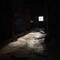 --- Photo by @frantxu850 --- Auschwitz II-Birkenau. Inside a brick barrakcs for prisoners.