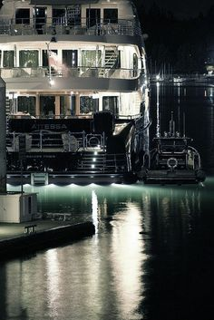 Night Yacht :: Yacht parts & Watermakers :: www.seatechmarineproducts.com #yachts #boats #boating #sailing #sailboat #yacht