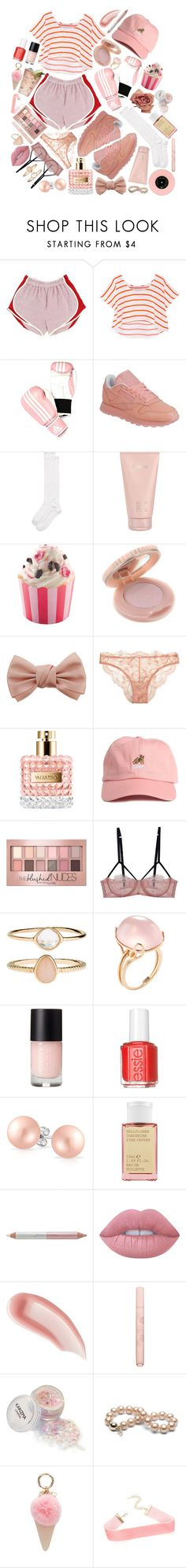 """@white&pink"" by issuri ❤ liked on Polyvore featuring Rebecca Minkoff, adidas, Reebok, Kate Spade, Lalique, Paul & Joe, Dorothy Perkins, La Perla, Margarita and Valentino"