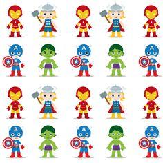 heroes fabric by tkbdesigns on Spoonflower - custom fabric