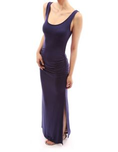 PattyBoutik Runched Sleeveless Tank Spring Summer Beach Sun Maxi Dress - Listing price: $36.99 Now: $35.00