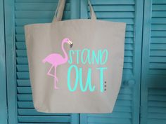 Free Silhouette Design: Born to Stand Out Flamingo