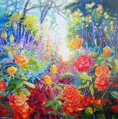 Mad English Summer Garden - Gill Bustamante